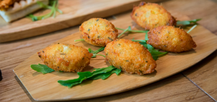 codfish cakes served in our gourmet food tours in Lisbon at Treasures of Lisboa