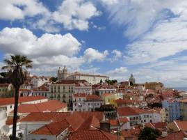 awesome point of view on lisbon's rooftop and pantheon that we get to see duringour gourmet food tours in Lisbon at Treasures of Lisboa