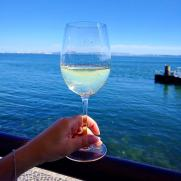portuguese white wine served in our food tours in Lisbon at Treasures of Lisboa