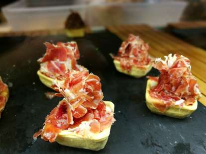 cured meat served in our food tours in Lisbon at Treasures of Lisboa
