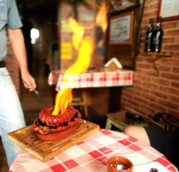 the portuguese sausage served in our food tours in Lisbon at Treasures of Lisboa
