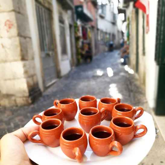 the best ginja or sour cherry liquor in Lisbon to be tasted with Treasures of Lisboa Food Tours, the best Food Tour in Lisbon.