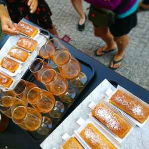 the best bean cake in Lisbon to be tasted with Treasures of Lisboa Food Tours, the best Food Tour in Lisbon.