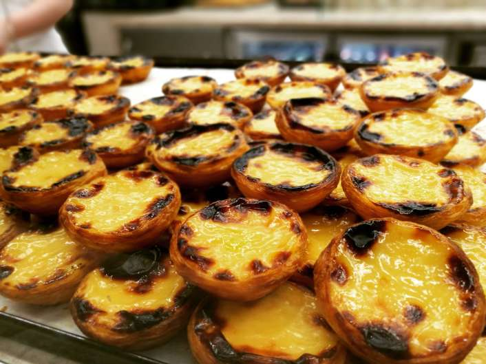 the best pastel de nata in Lisbon to be tasted with Treasures of Lisboa Food Tours, the best Food Tour in Lisbon.