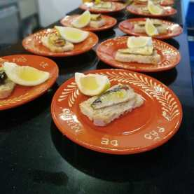 portuguese sardines to be tasted during the best food tour in Lisbon with treasures of lisboa food tours