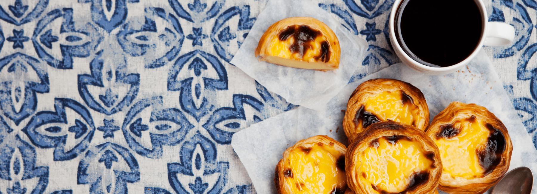 pasteis de nata in lisbon by treasures of lisboa food tours